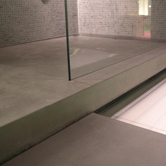 duschwanne aus beton eckventil waschmaschine. Black Bedroom Furniture Sets. Home Design Ideas